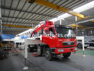 China Betonpumpe-LKWs RHD 37m 8x4 FAW 380HP mit Dieselmotor fournisseur