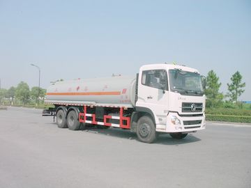 China Gallonen-Öl-Tanklastzug 18500L, ISO9001 Dongfeng 6x4 245HP 4.887 US distributeur